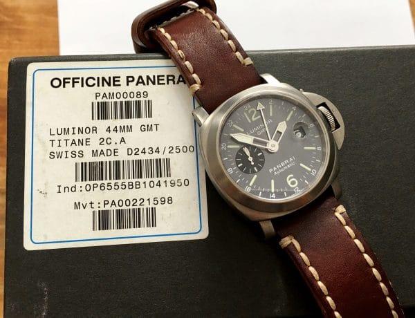 Panerai Luminor GMT Automatic PAM00089 Titan