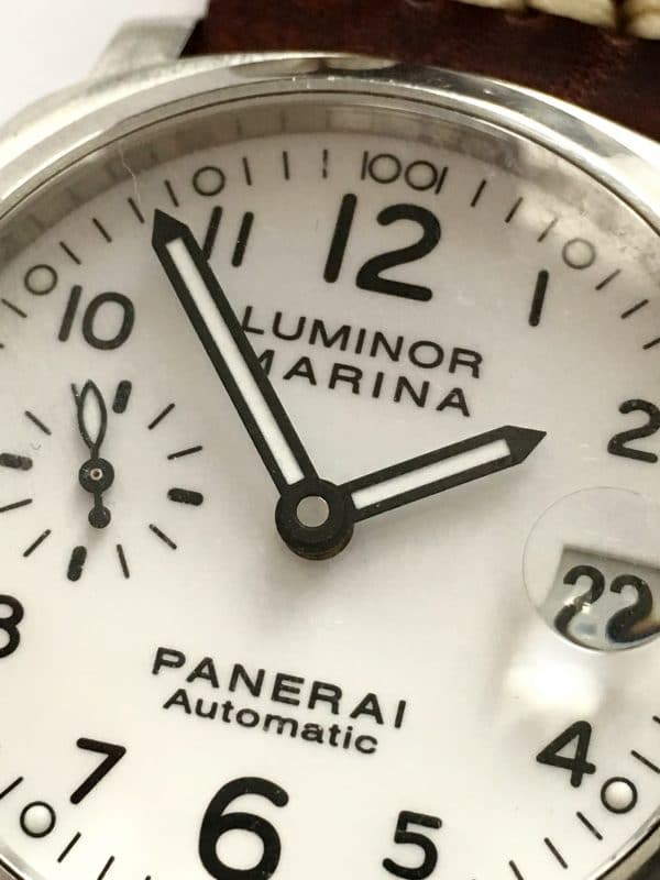 Great Panerai Diver Automatic White dial