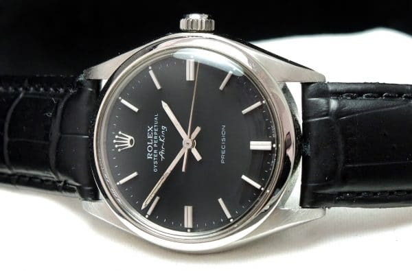 Serviced Rolex Air King Automatic black dial