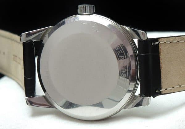 Omega Seamaster Automatic Black Crosshair Dial
