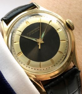 [:en]Yellow Gold Plated Junghans Two Tone Bulleye[:de]Vergoldete Junghans Two Tone Bulleye[:]