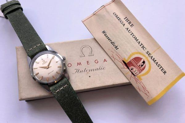 Vintage Omega Seamaster Automatic Box Instruction Manual
