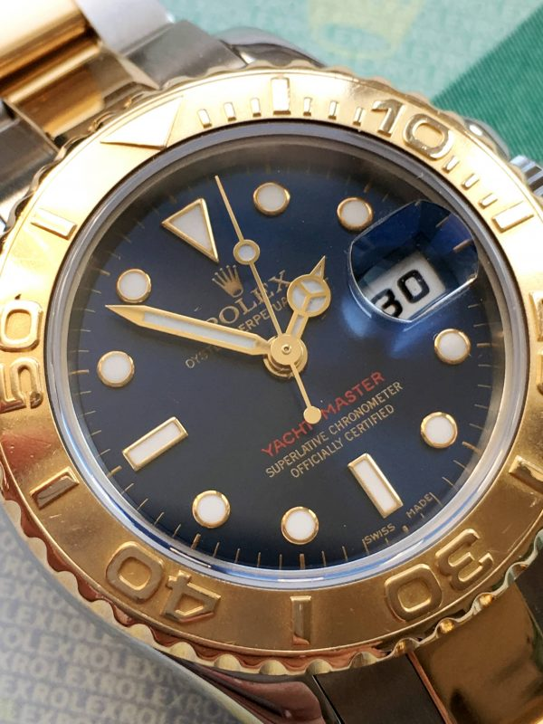 Great Rolex Yachtmaster Lady 29mm Steel/Gold Full Set