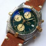 gm321 breitling chronomat green dial (10)
