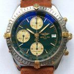 gm321 breitling chronomat green dial (11)