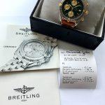 gm321 breitling chronomat green dial (13)