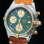 gm321 breitling chronomat green dial (4)