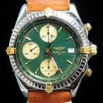 gm321 breitling chronomat green dial (5)