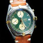 gm321 breitling chronomat green dial (6)