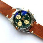 gm321 breitling chronomat green dial (8)