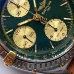 gm321 breitling chronomat green dial (9)