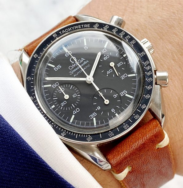 Vintage Omega Speedmaster Automatic Reduced