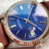 Vintage Rolex Datejust Ref 1601 Blue Dial