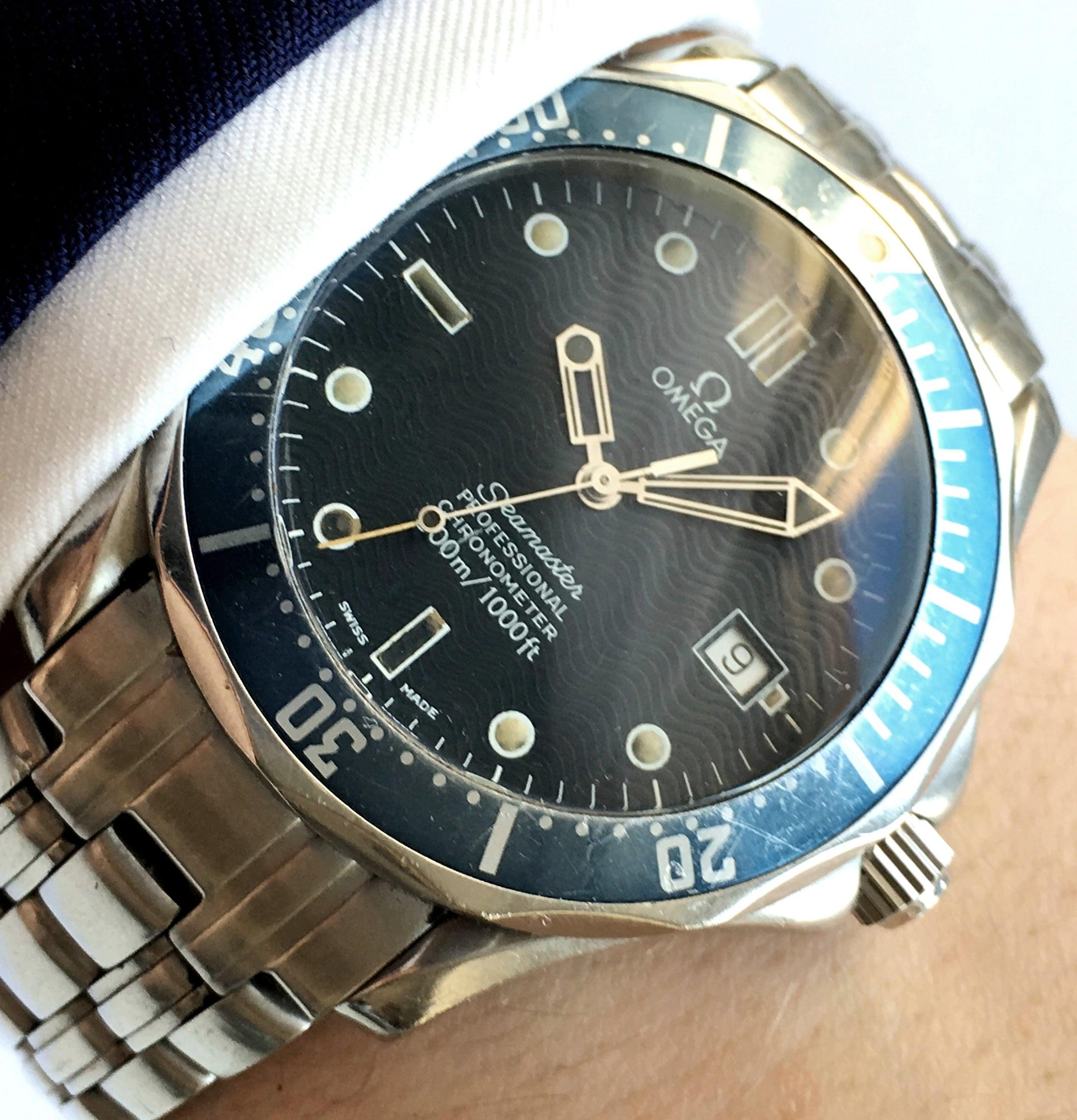 James Bond Omega Seamaster 300 Professional Vintage 41mm