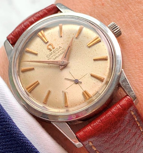 Vintage Omega Seamaster Automatic Small Seconds