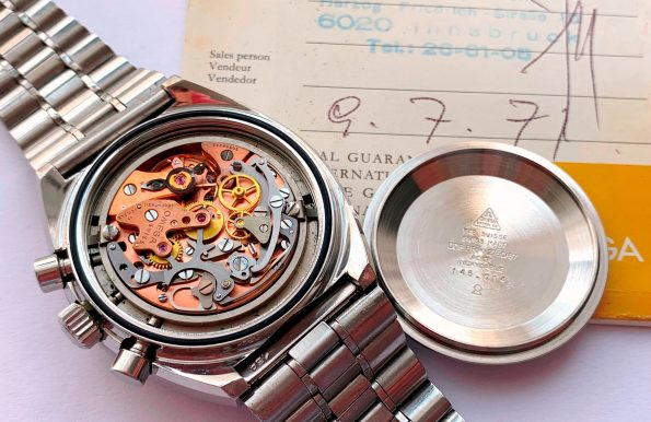 FULL SET Omega Speedmaster Mark 2 II Vintage