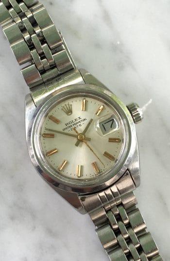 Vintage Rolex Damen Datejust Jubilee Strap Edelstahl
