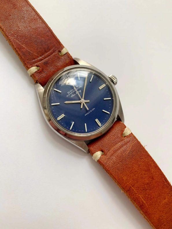 Serviced Rolex Air King Automatic wonderful blue dial