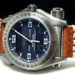 Breitling Emergency Titanium Full Set with Briefcase