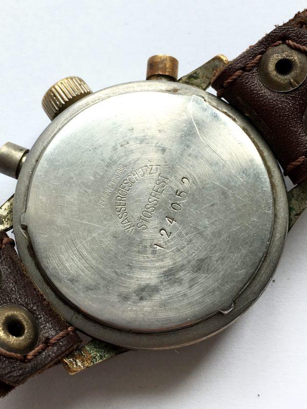 Vintage 1944 Military Style Hanhart Chronograph