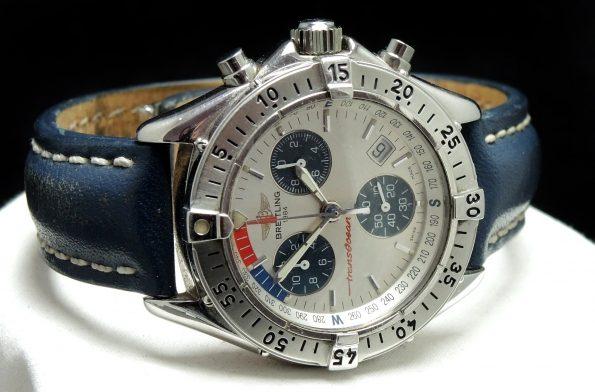 Breitling Quartz Transocean Chronograph