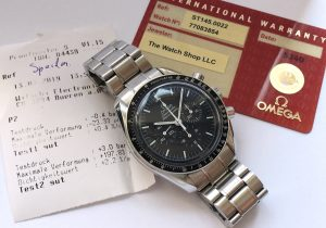 [:en]Amazing Omega Speedmaster Professional Box Original Papers [:de]Vintage Omega Speedmaster Professional Box Originalpapiere[:]