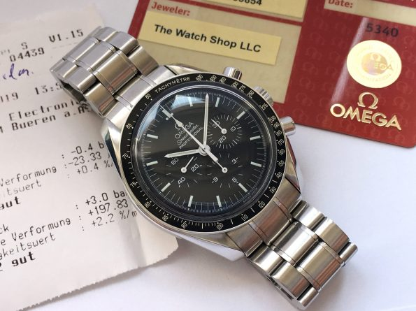 Amazing Omega Speedmaster Professional Box Original Papers
