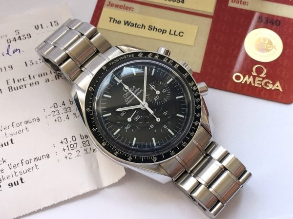 Amazing Omega Speedmaster Professional Box Original Papers