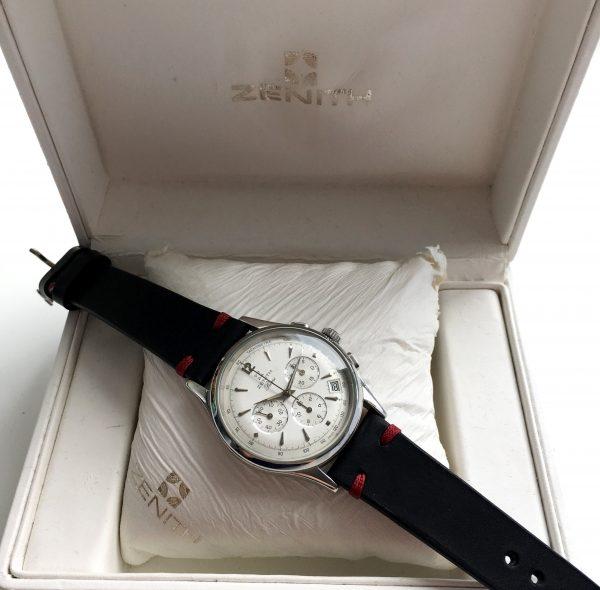 Beautiful Handwinding Zenith Prime Chronograph with Box