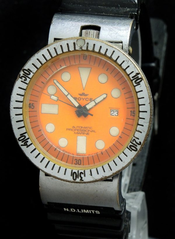 Amazing Royce Vintage Marine Diver watch 46mm