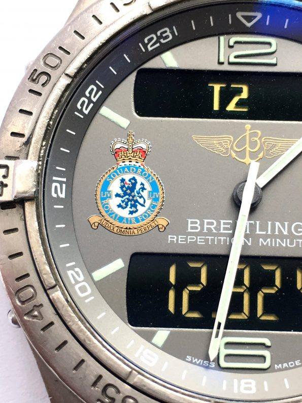 Breitling Aerospace Special Edition RAF Royal Air Force MILITARY