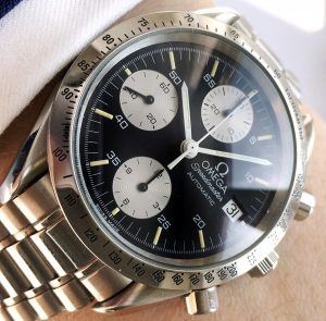 Omega Speedmaster Reduced Reverse Panda