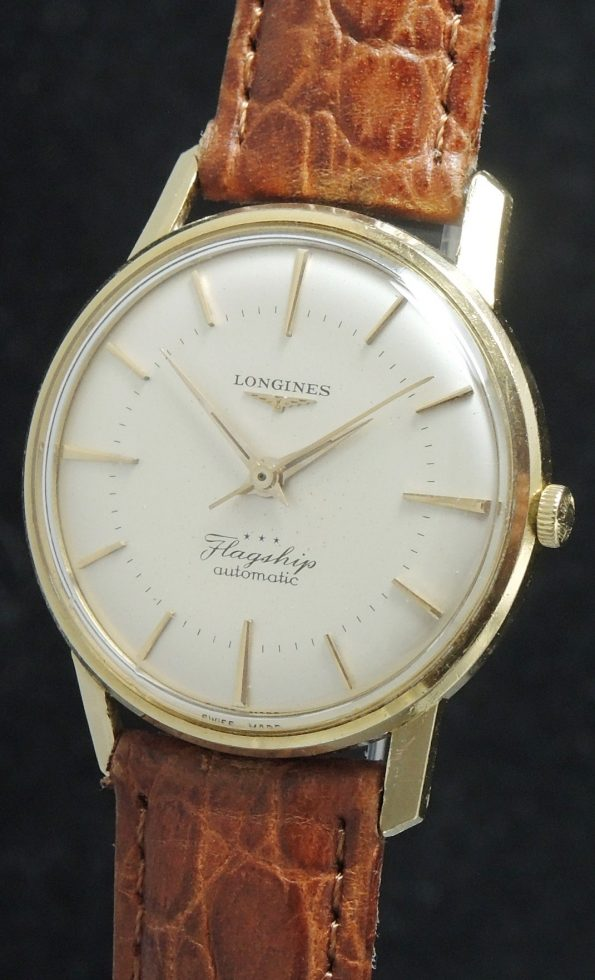 Rare 18k Solid Gold Longines Flagship Ref 2404