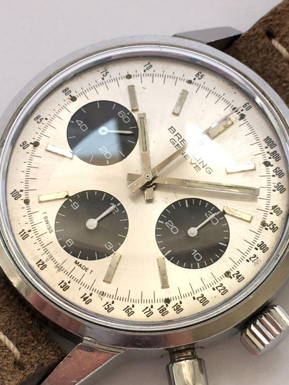 Very Rare Breitling Top Time Panda Dial 38mm ref 815 Vintage