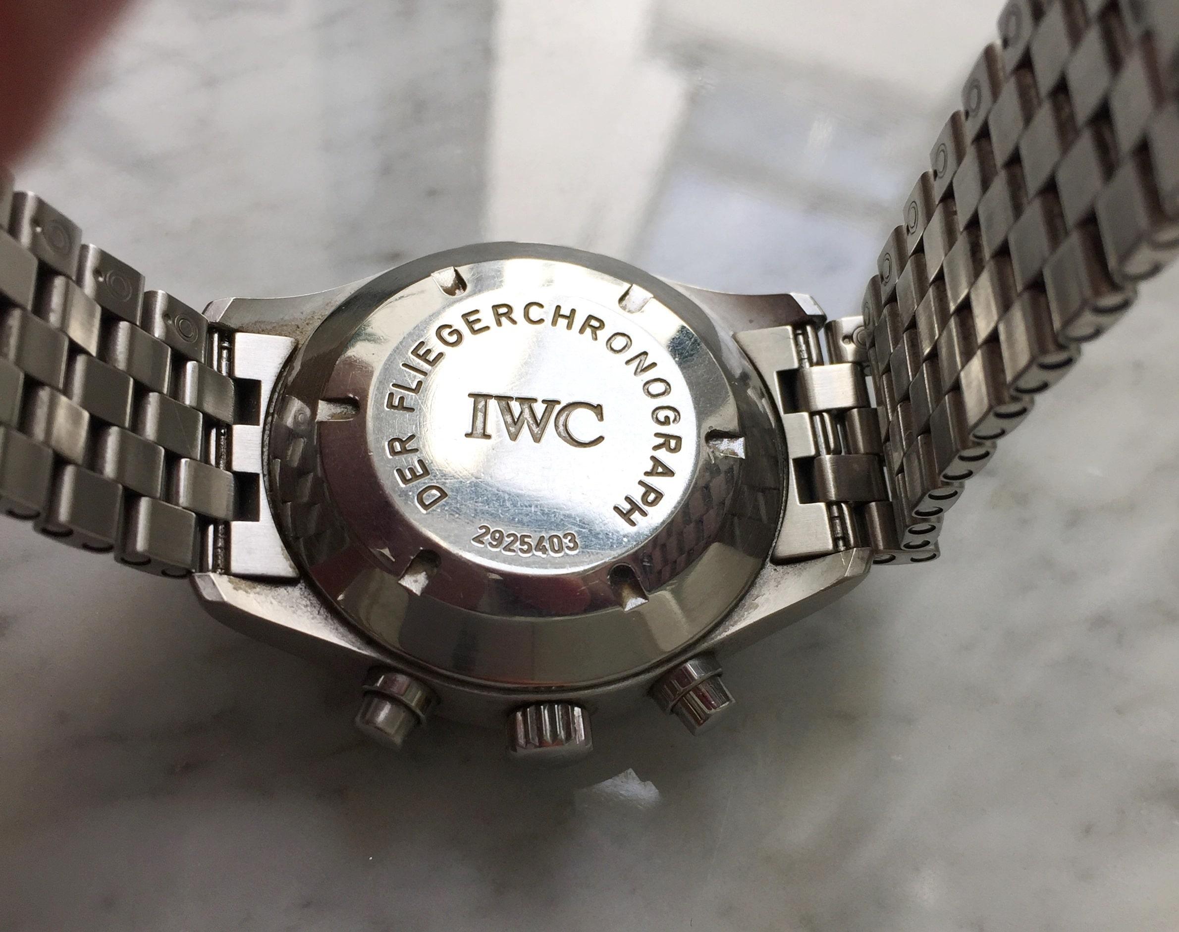IWC Der Fliegerchronograph Full Set