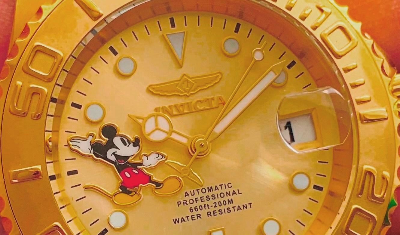 Invicta Diver Mickey Mouse Full Set