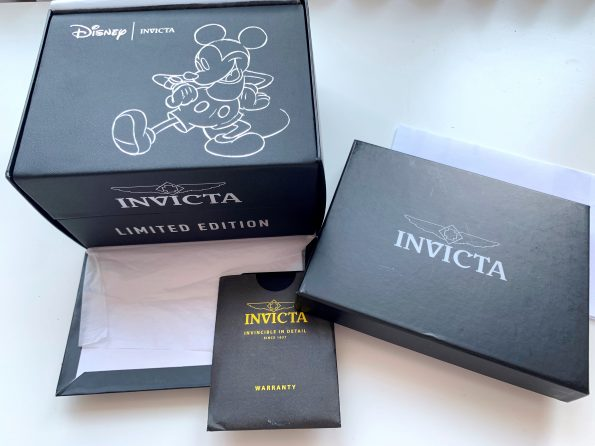 Invicta Diver Mickey Mouse Full Set