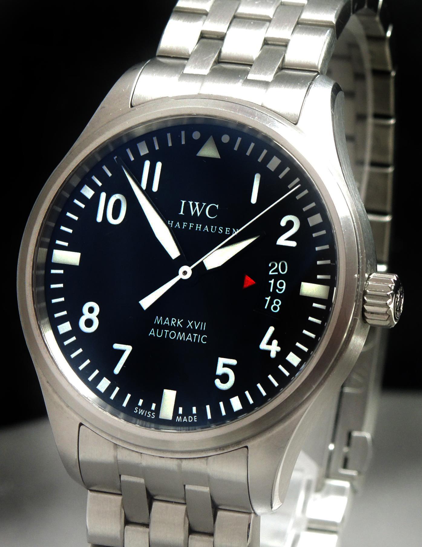 IWC Mark XVII Full Set mit IWC Stahlband