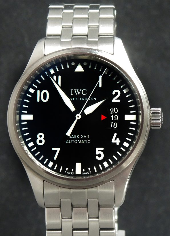 IWC Mark XVII Full Set mit IWC Stahlband