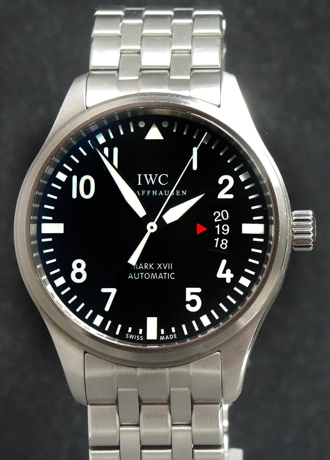 IWC Mark XVII Full Set with IWC Steel Bracelet