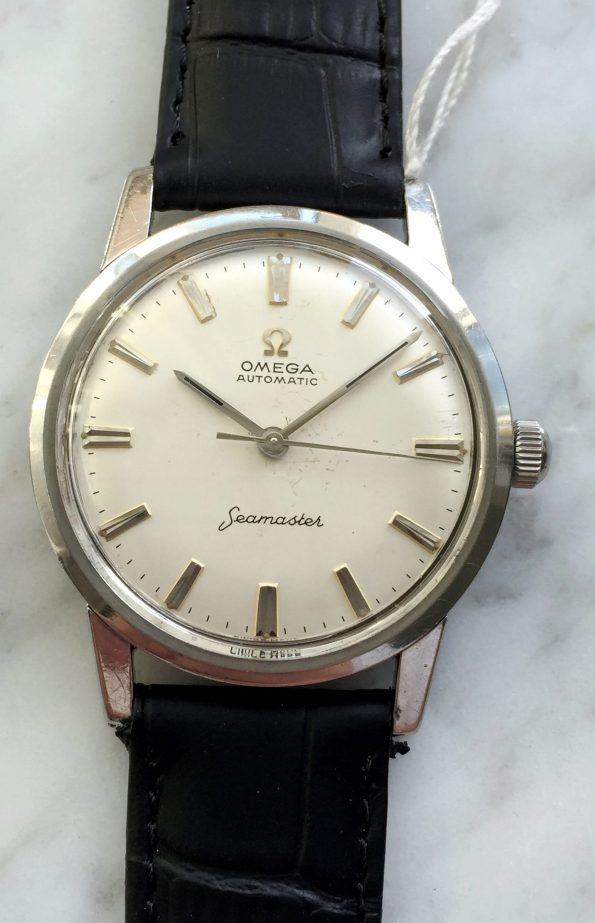 Vintage Omega Seamaster Automatic Steel Date Serviced