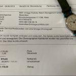 gm433 omega 33.3 chronograph