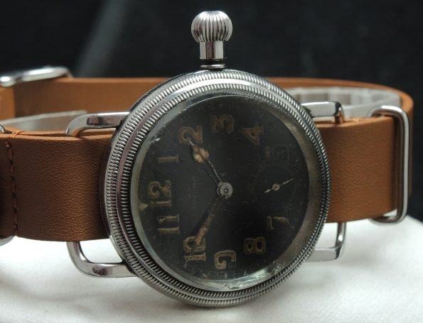 Superrare Omega Vintage Military Pilots Watch 1930s
