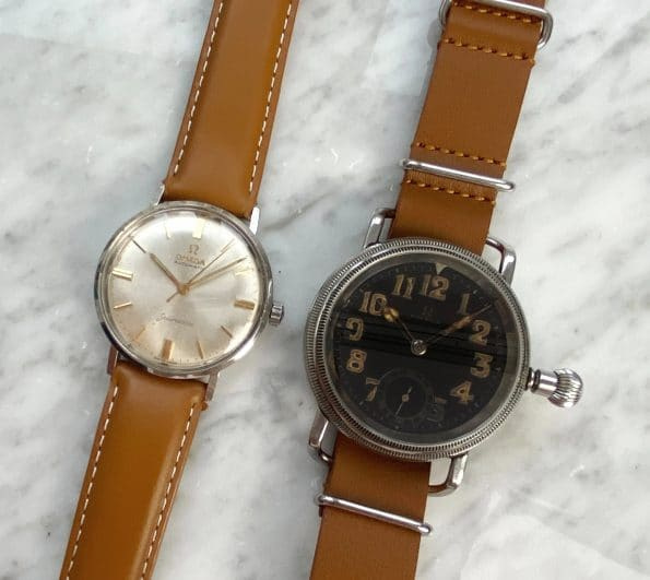 WITH EXTRACT Superrare Omega Vintage Military Pilots Watch 1930er