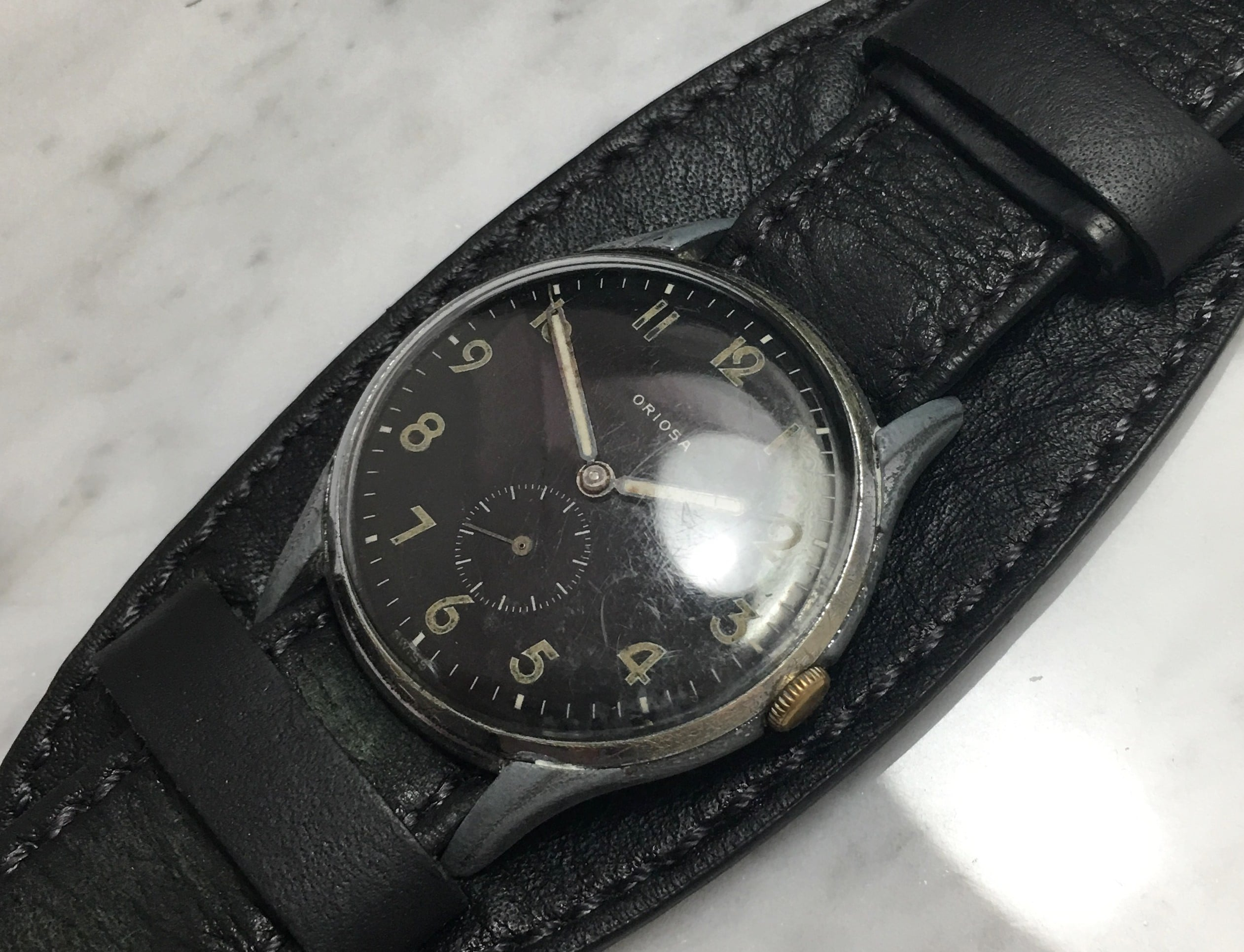Jumbo Vintage Oriosa Military Watch