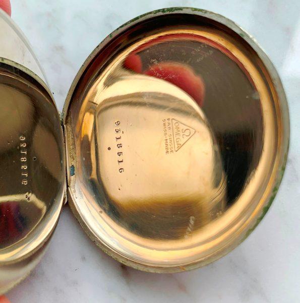 Vintage Omega Pocket Watch Breguet Numerals and Hands All Original