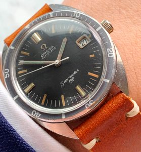 [:en]Vintage Omega Seamaster 120 Automatic Date[:de]Vintage Omega Seamaster 120 Automatik Datum[:]
