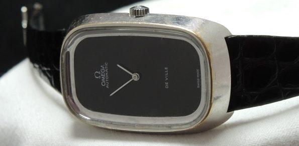 Omega De Ville Onyx Dial Automatic Ladies