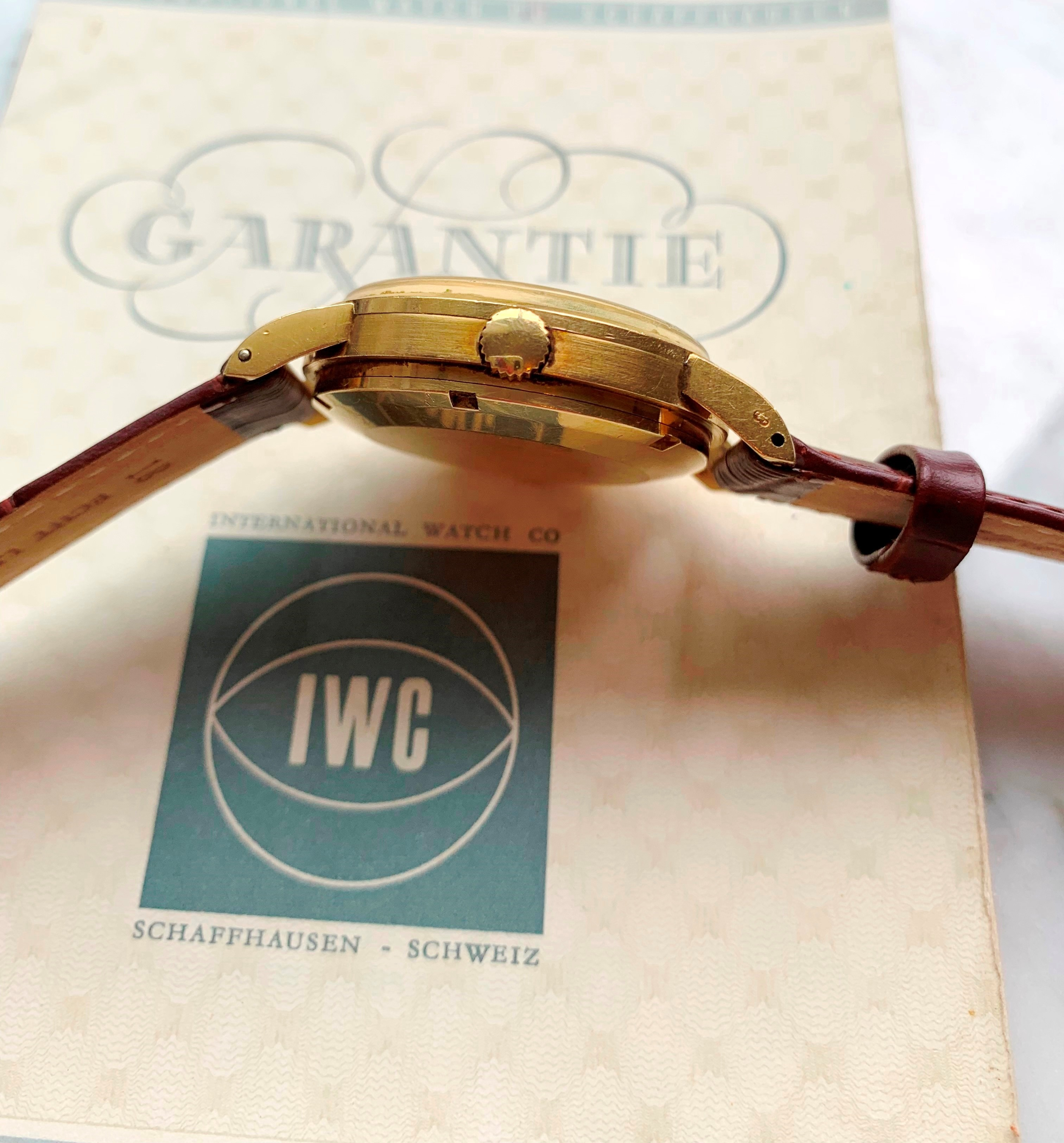 Investment Grade 18k Vollgold IWC Ingenieur Ref 666 FULL SET