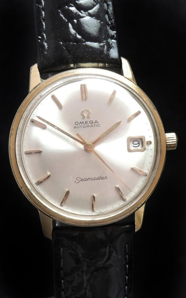 Serviced Gold Plated Omega Seamaster Automatic Vintage